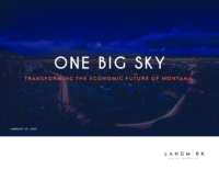 One Big Sky Development Plan