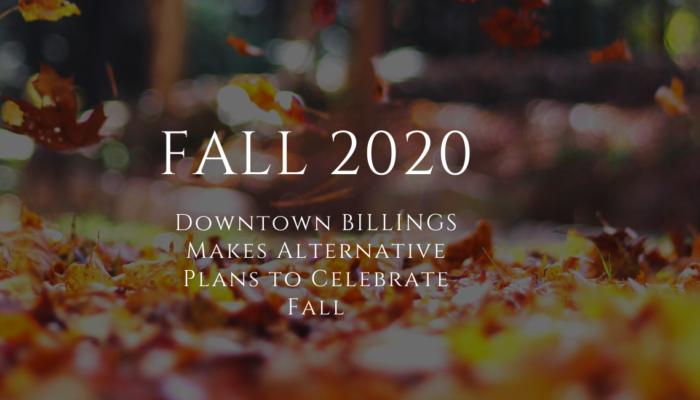 downtown billings fall