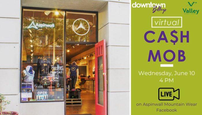 Downtown Billings Cash Mob - Aspinwall