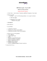DBP Board Packet 5.22.2020