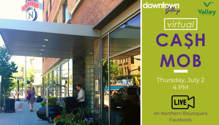 Downtown Billings ‎Downtown Virtual Cash Mob The Northern Boutique