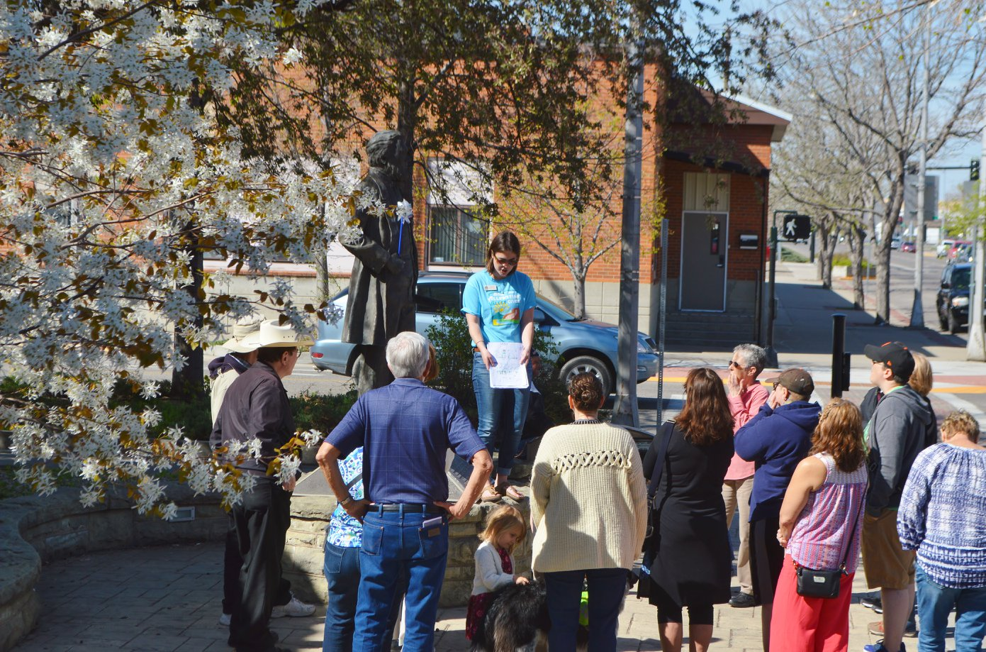 guided walking tours billings MT