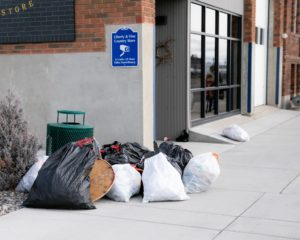 Liberty & Vine Country Store Downtown Litter Pick Up
