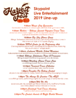 Entertainment Lineup