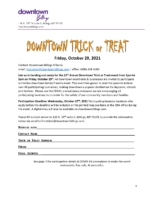 Trick or Treat Location Application