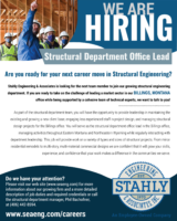 Stahly Engineering & Associates, Inc / Structural Department Office Lead