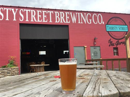 Brewery Patio in Billings MT