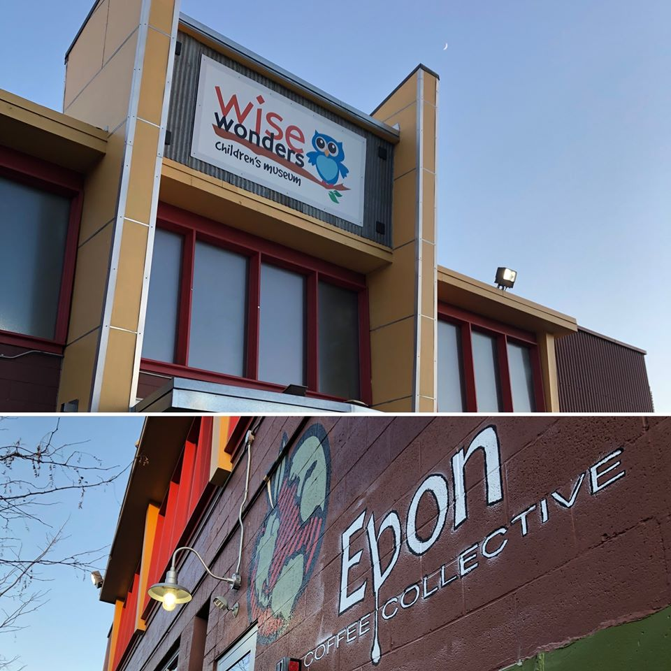 TIF project Wise Wonders Children's Museum and Ebon Coffee Collective