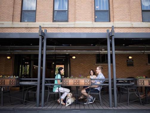 Local coffee patio billings mt