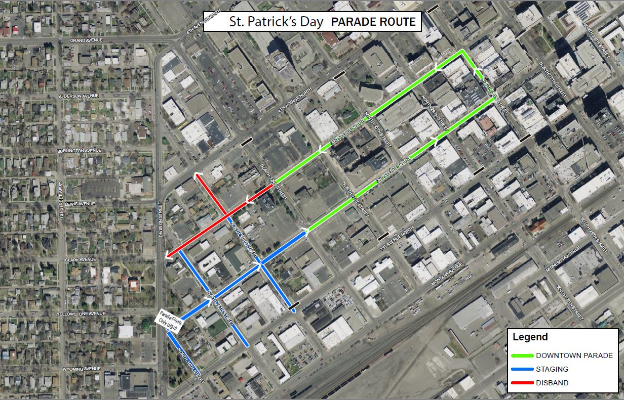 St. Patrick's Day Parade & Celtic Fair   Downtown Billings Alliance