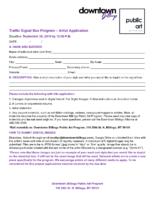 Traffic Signal Box Application
